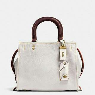 MINI SIERRA SATCHEL WITH AMERICAN DREAMING MOTIF PATCHES COACH F25911
