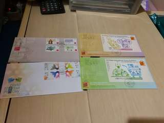 Hong kong post stamp 香港郵政郵票套摺 首日封2015郵展小型張 世界郵政日 中國古代科學家