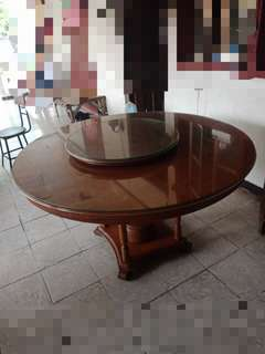 Table Round - Narra Wood (Price Negotiable)