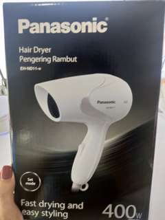 New panasonic hair dryer