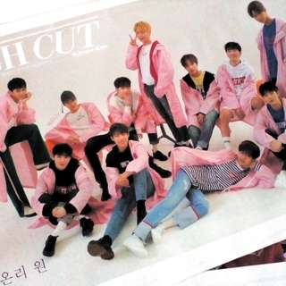 Wanna One HIGHCUT MAGAZINE