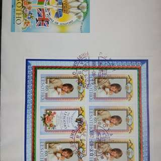 The birthday of HRH Prince William of wales~year:1982-official first day cover