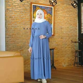 MLA - 0318 - Dress Gamis Busana Muslim Wanita Maddah