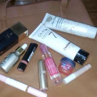 Bundle make up & Olay and Gluta with free bag