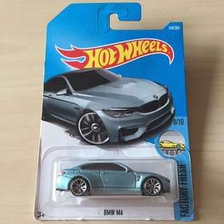 Hot Wheels 154/365 BMW M4 #List4Avengers
