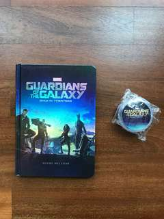 Marvel Guardian Of The Galaxy Notebook & Toy