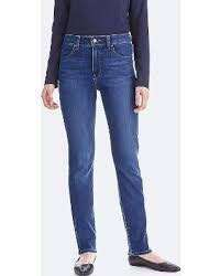 Uniqlo high-rise slim straight jeans