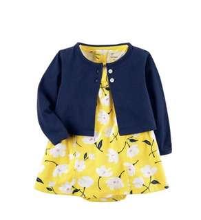 Carters cardigan dress