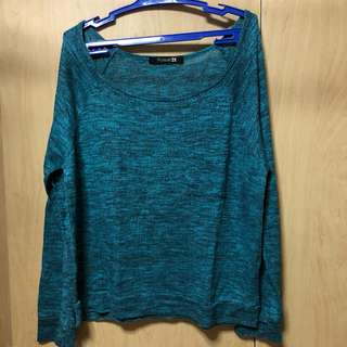 Forever 21 Wide Neck Sweater