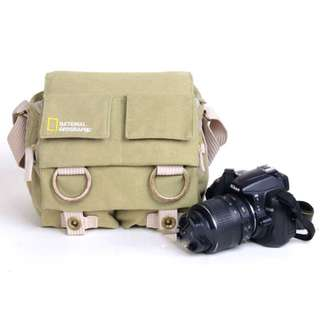 Tas Kamera Selempang DSLR National Geographic - NG2345 - Khaki