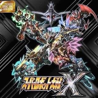 PS4  機械人大戰X 修改 中文版