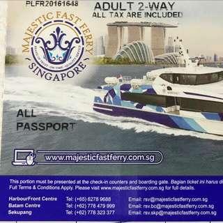 Batam Ferry Ticket