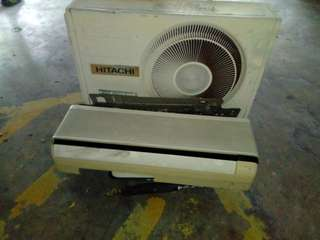 1HP NATIONAL AIR CON AND HITACHI COMPRESSOR