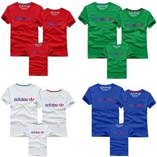 Adidas Tshirt Family Set D