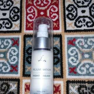 Larissa Night Cream Rejuvenation Series Krim Malam Larissa