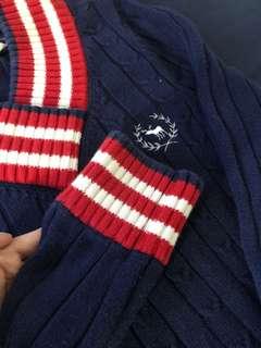 Bluedeer學院針織衫