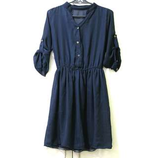 Midnight Blue Dress or Blouse