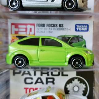 Tomica ford focus first colour green