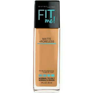 Maybelline Fit Me Matte + Poreless Foundation Shade 125