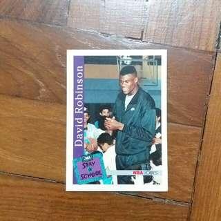 NBA Upper DECK 1992-1993 NBA Hoops Stay in School 籃球卡