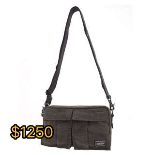日本正版porter shoulder bag