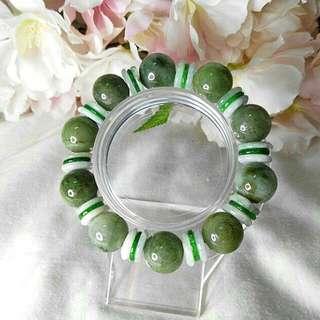 A Jade Bracelet。14mm.
