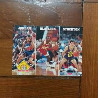NBA Upper DECK 1992-1993 NBA Hoops League Leaders Steals 籃球卡