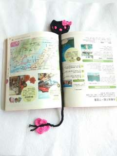 Black Hello Kitty Bookmark