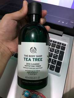 Megasize The Body Shop Tea Tree Toner