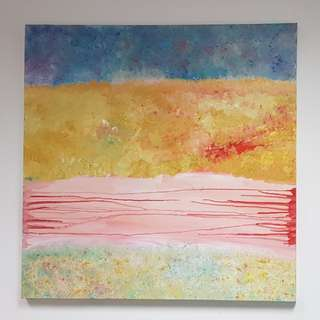 Canvas Painting for sale: Reflections