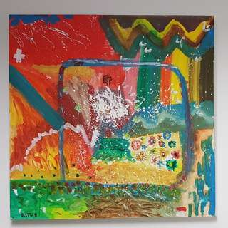 Canvas Painting for sale: Colors