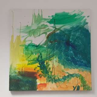 Canvas Painting for sale: Forest