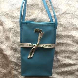 Authentic lacoste hand bag