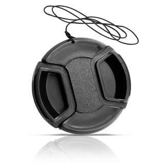 Lens Cap Nikon 52mm Tanpa Logo - Black