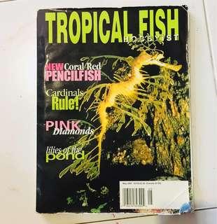 Tropical Fish Hobbyist 2001 may