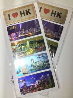 Hong Kong Souvenir Ref Magnets