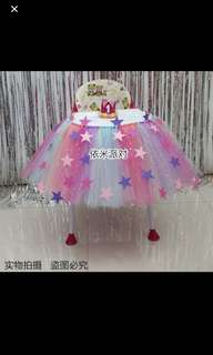 high chair tutu
