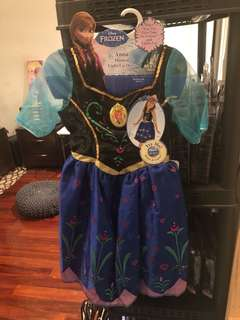Frozen Anna light up dress