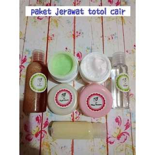 Cream jerawat totol cair