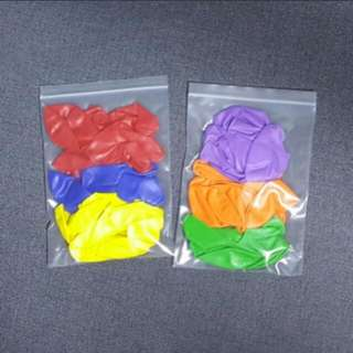 Party color balloons