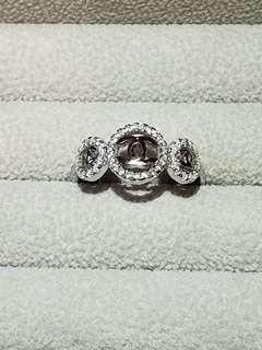 名星款925三圓戒指