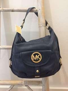 Michael Kors Fulton Large Shoulder Bag Leather