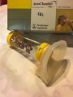 AeroChamber Plus with Child Mask