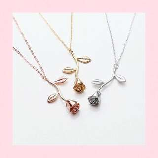 Rose Necklace