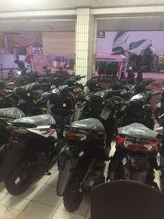 Dealer Resmi Motor Honda Cash / Kredit