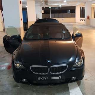 Car fumigation for roaches(BMW)