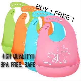 High Quality Silicone Baby Bib (Waterproof)