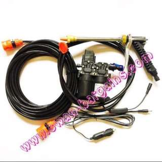 Portable 12V Mobile Car Van Motorbike Grooming High Pressure Single Double Motor Electrical Water Pump Auto Washing Kit