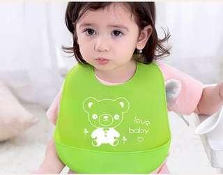 Silicone Baby Bibs Waterproof