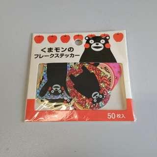 熊本熊貼紙 Kumamon